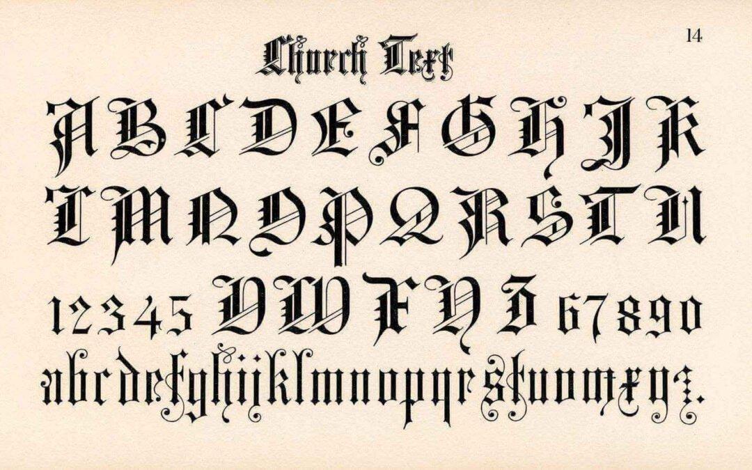 Come esaltare i tuoi lavori con l'uso dei font più belli